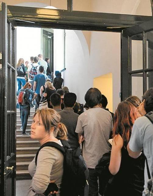 Technische Uni Wien: Inskription in letzter Minute. Foto: APA