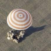 Raumfahrer in Kasachstan gelandet