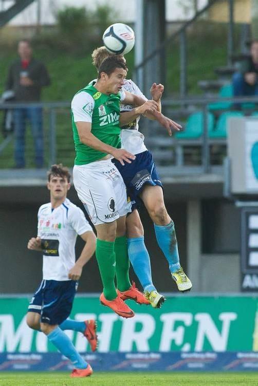 Thiago De Lima erzielte gegen Hartberg die frühe Führung. Danach legte die Austria noch zweimal nach. Foto: steurer