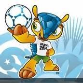 WM-Maskottchen ist Dreibinden-Gürteltier