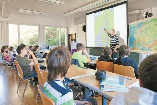 Unterrichten ist anstrengend. ÖAAB-Lehrerobmann Türtscher fordert mehr Geld für Lehrer. Foto: vn/hofmeister