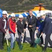 Wucher-Heli baut in Zell am See