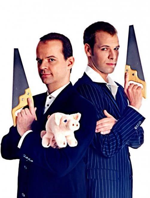 Verblüffend, witzig und nicht ganz ernst zu nehmen sind diese beiden Herren. foto: veranstalter