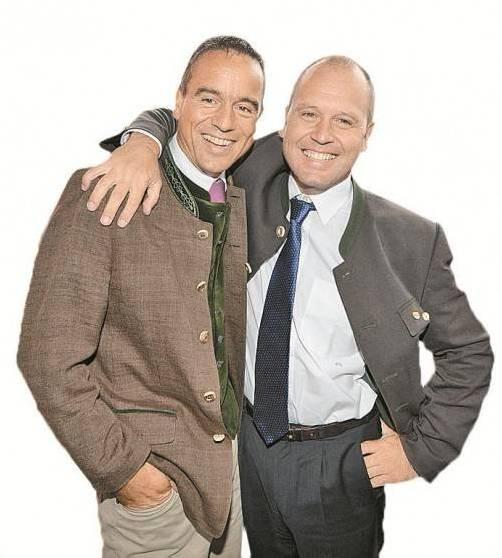 Vereinte Brüder: Uwe (l.) und Kurt Scheuch. Foto: APA