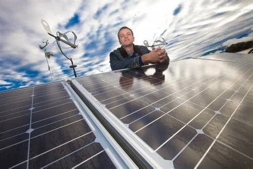 Viele Private, die um eine Photovoltaik-Förderung ansuchten, gingen leer aus. Vom Land gibt es jetzt einen Zuschuss. Foto: VN/Steurer