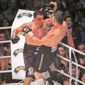 Witali Klitschko kämpfte nur kurz