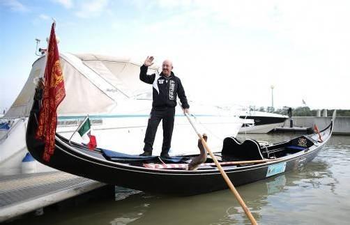 Von Wien nach Budapest: Gestern hat Vittorio Orio seine 300 Kilometer lange Reise gestartet. Foto: APA