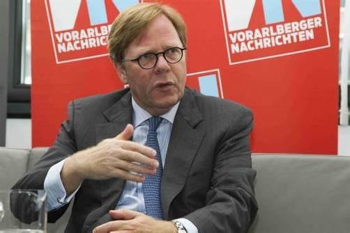 Willibald Cernko, Vorstandsvorsitzender Bank Austria. Foto: VN