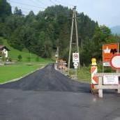 Ausbau der Tschaggunser Zelfenstraße