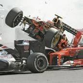 Button-Sieg in Spa, Vettel Nutznießer von Horror-Crash