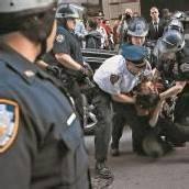 Festnahmen am ersten Jahrestag der Occupy-Bewegung in New York