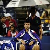 Regen bei den US Open