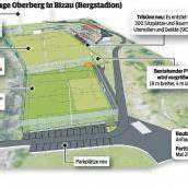 FC Bizau baut Stadion aus