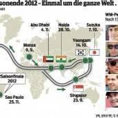 Welttournee für den Formel-1-Titel