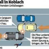 Alko-Lenker krachte in Unfallauto