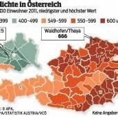 Größte Autodichte im Osten Österreichs