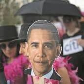 Alle Augen auf Obama