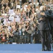 Clinton steht Obama zur Seite