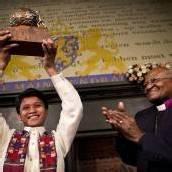 13-jähriger Straßenjunge erhält Friedenspreis