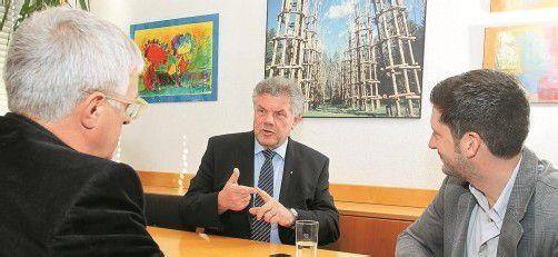 """""""In der Bundespolitik muss sich Gravierendes ändern"""": Mandi Katzenmayer im VN-Gespräch. foto: VN/BH"""