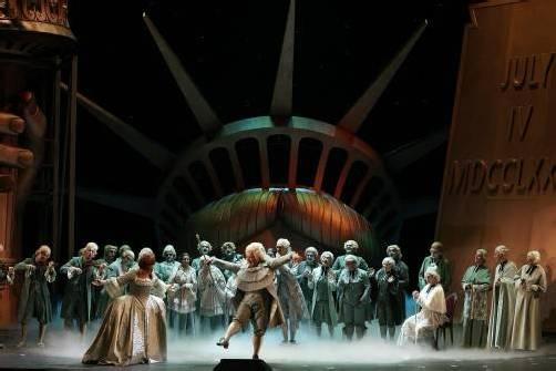 """""""Manon Lescaut"""" von Puccini hat in der Inszenierung von Stefan Herheim am Samstag am Grazer Opernhaus Premiere. Fotos: Karl Forster, VN, Dpad"""