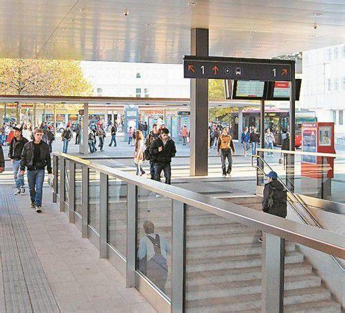 15.000 Personen sind täglich am Bahnhof unterwegs. Foto: std