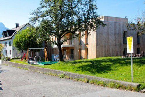 40 Bewerber gab es für die 12 gemeinnützigen Wohnungen in Göfis.