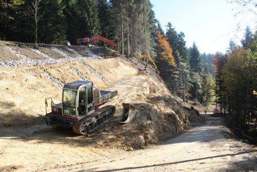 400 Meter lange Zufahrt in Eichenberg-Schüssellehen wird ausgebaut.