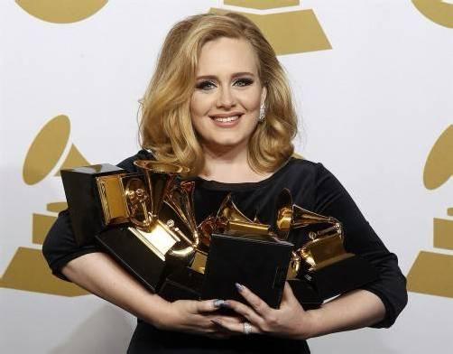 """Adele freut sich über """"die große Ehre"""". Foto: REUTERS"""