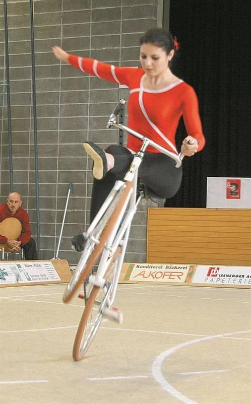 Adriana Mathis befindet sich in bestechender Form. Foto: akp