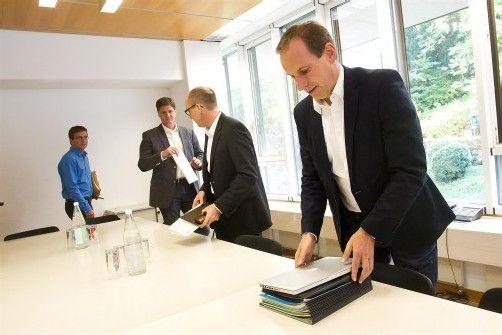 Akteneinsicht in die Unterlagen zum Fall wurde den Oppositionschefs nach langer Diskussion gestattet. Foto: VN