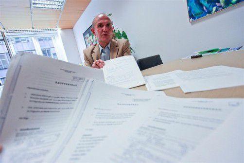 Albert Hofer: Laut Volksanwältin wurde der ÖVP-Politiker bei der Umwidmung nicht bevorzugt. Die Opposition sieht weitere Fragen. Foto: VN