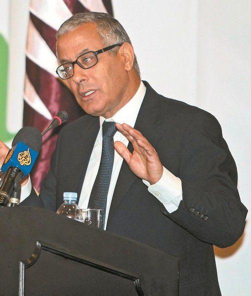 Ali Sidan zu seiner Zeit im libyschen Übergangsrat. Foto: DAPD