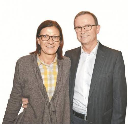 Altachs Vorstandschef Karlheinz Kopf mit Gattin Karin. stiplovsek/3