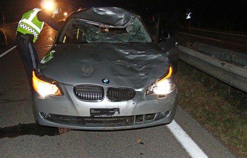 Am Auto entstand Totalschaden. Foto: vol.at/pletsch