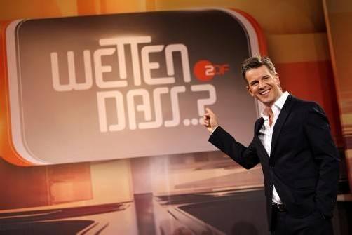 Jetzt wird es ernst: Markus Lanz tritt heute die Nachfolge von Thomas Gottschalk an. Foto: EPA