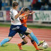 Zellhofer schießt FC Lustenau zum Sieg in Hartberg