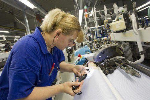 Auch Getzner Textil aus Bludenz ist Mitglied im ersten Energieeffizienz-Netzwerk Österreichs. Foto: vn/hartinger