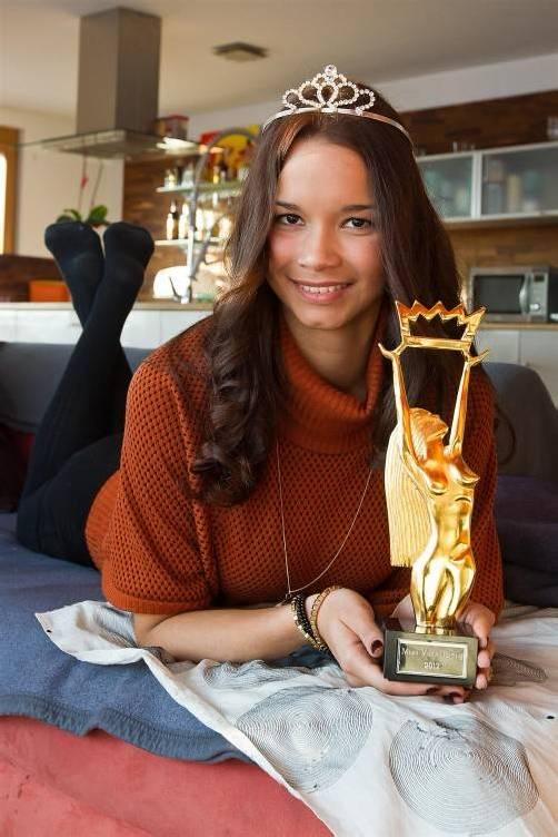 Auch Miss Vorarlberg Lourdes Gomez wurde beim Probeshooting für die Misswahl entdeckt. Foto: VN