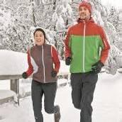 Sport und Spaß an kalten Tagen