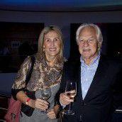 Baumeister Günter Schertler mit Ingrid. Fotos: FRANC