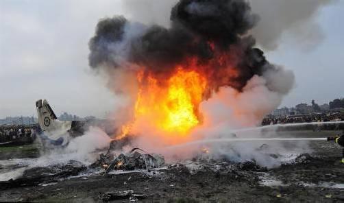 Bei dem Flugzeugabsturz kamen 19 Menschen ums Leben.  dapd