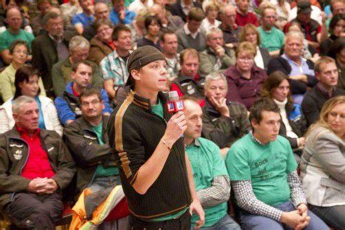 Beim VN-Stammtisch am vergangenen Montag lieferten sich Gegner und Befürworter einen letzten öffentlichen Schlagabtausch. VN/Paulitsch