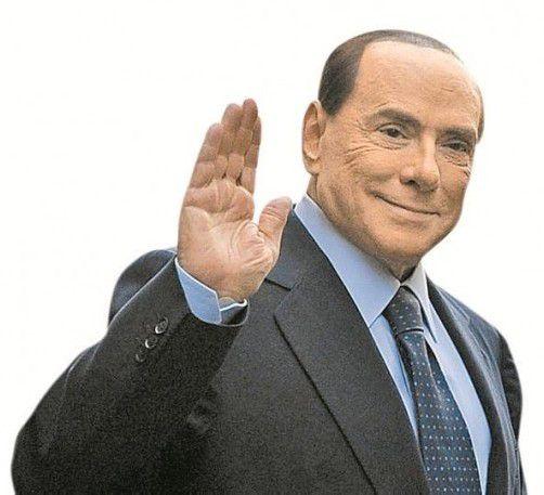 """Berlusconi: """"Habe nie für Sex bezahlt.""""  Foto: DAPD"""