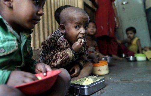 Besonders Sub-Sahara-Afrika ist immer noch von Hunger betroffen, jeder vierte Mensch (234 Millionen) ist nicht ausreichend ernährt. Foto: AP