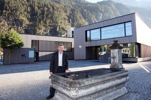 Bgm. Lothar Ladner: Ganz Lorüns ist stolz auf neues Gemeindezentrum.