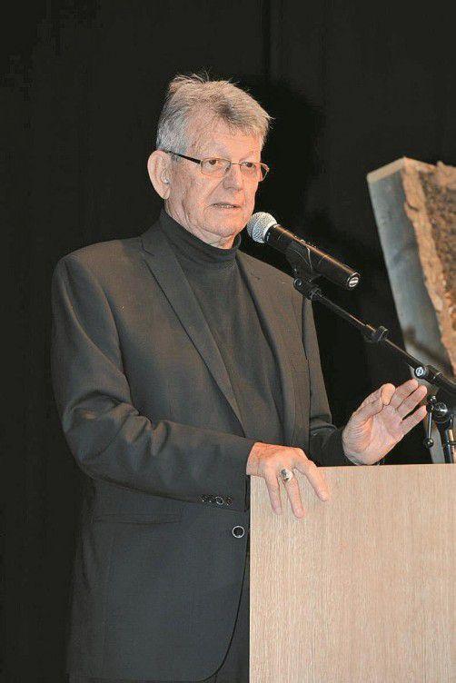 Bischof Erwin Kräutler: Vorträge in Mäder und Koblach. Foto: HBR