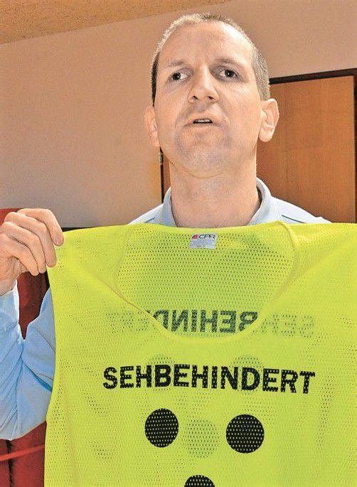 Blindenverbands-Obmann Karlheinz Ritter. Foto: B