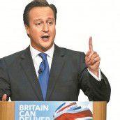 Cameron warnt Briten vor harten Zeiten