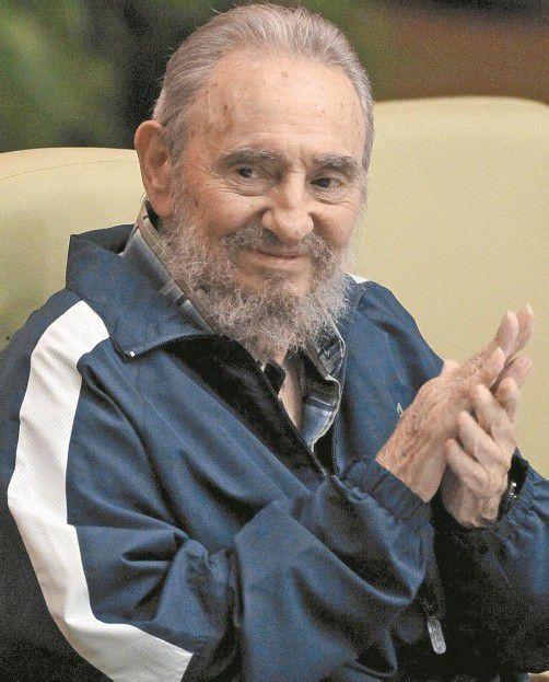 Castro (86) bei seiner Geburtstagsfeier im August. Foto: DAPD